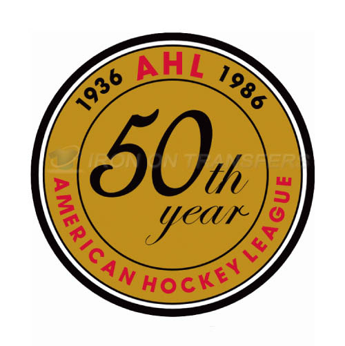 American Hockey League Iron-on Stickers (Heat Transfers)NO.8973