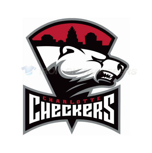 Charlotte Checkers Iron-on Stickers (Heat Transfers)NO.8987