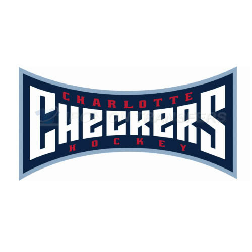 Charlotte Checkers Iron-on Stickers (Heat Transfers)NO.8995