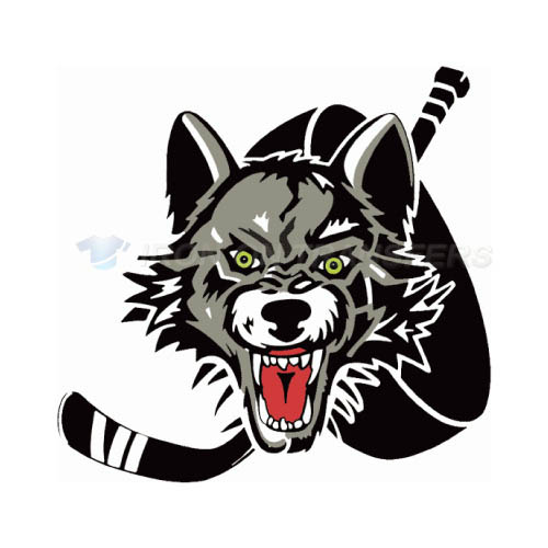 Chicago Wolves Iron-on Stickers (Heat Transfers)NO.8998