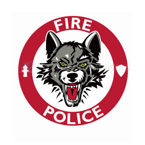 Chicago Wolves Iron-on Stickers (Heat Transfers)NO.8999
