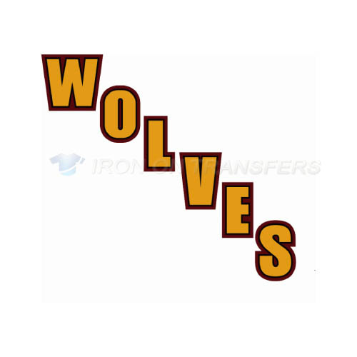 Chicago Wolves Iron-on Stickers (Heat Transfers)NO.9001