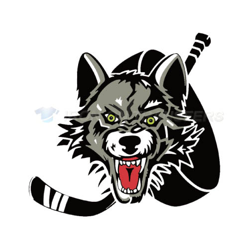 Chicago Wolves Iron-on Stickers (Heat Transfers)NO.9002