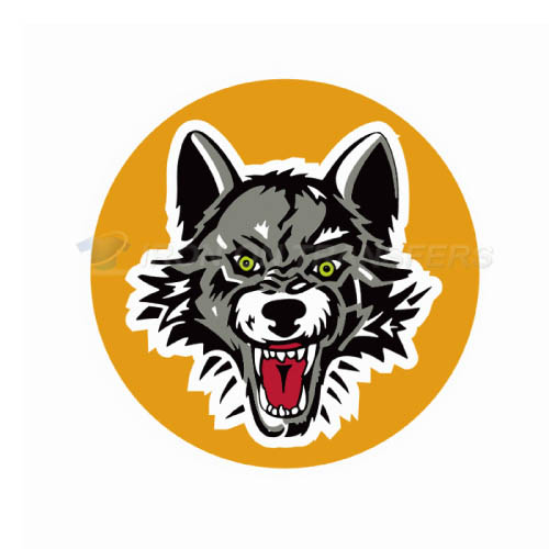 Chicago Wolves Iron-on Stickers (Heat Transfers)NO.9003