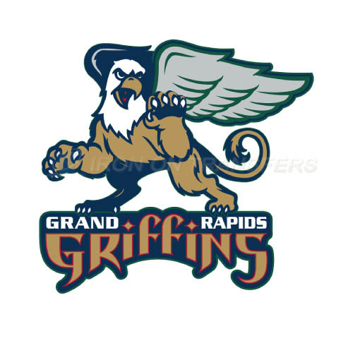 Grand Rapids Griffins Iron-on Stickers (Heat Transfers)NO.9004
