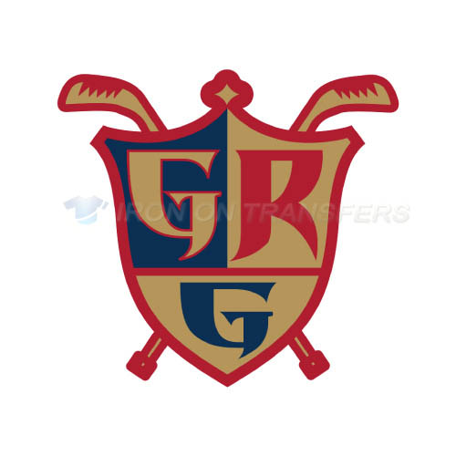 Grand Rapids Griffins Iron-on Stickers (Heat Transfers)NO.9005