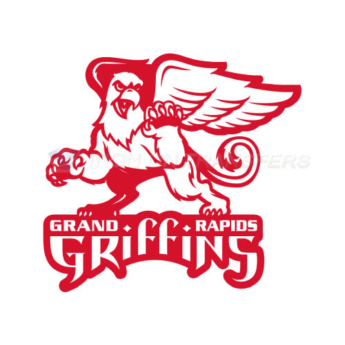 Grand Rapids Griffins Iron-on Stickers (Heat Transfers)NO.9007