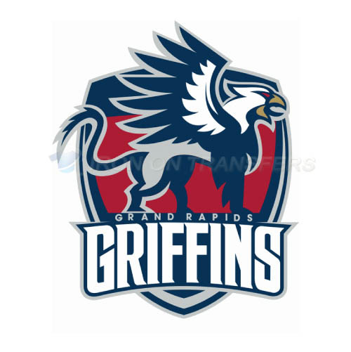 Grand Rapids Griffins Iron-on Stickers (Heat Transfers)NO.9008