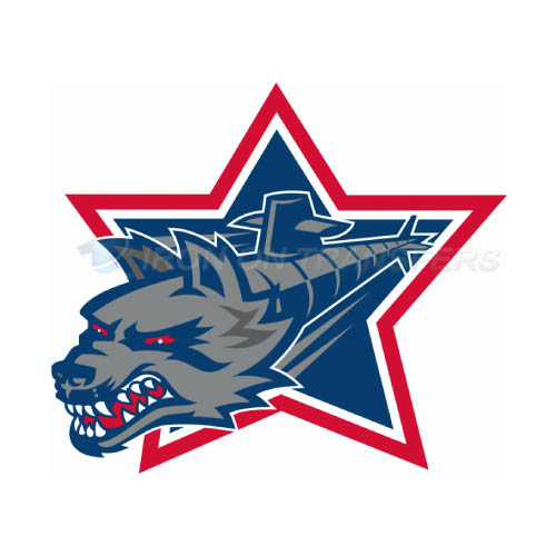 Hartford Wolf Pack Iron-on Stickers (Heat Transfers)NO.9034
