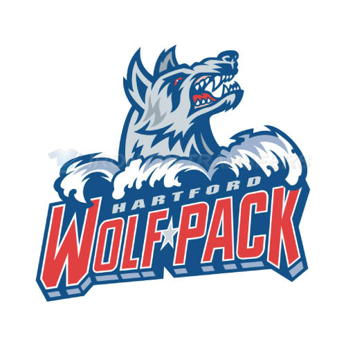 Hartford Wolf Pack Iron-on Stickers (Heat Transfers)NO.9035