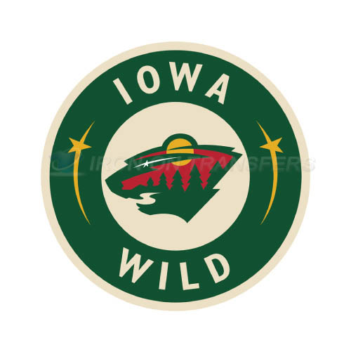 Iowa Wild Iron-on Stickers (Heat Transfers)NO.9054