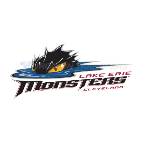 Lake Erie Monsters Iron-on Stickers (Heat Transfers)NO.9056
