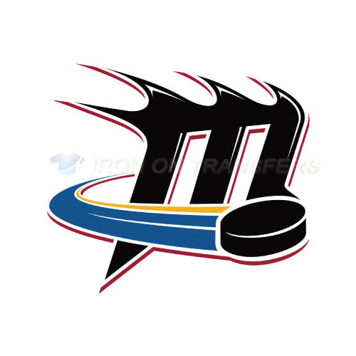 Lake Erie Monsters Iron-on Stickers (Heat Transfers)NO.9058
