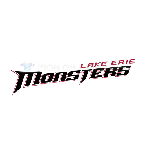 Lake Erie Monsters Iron-on Stickers (Heat Transfers)NO.9059