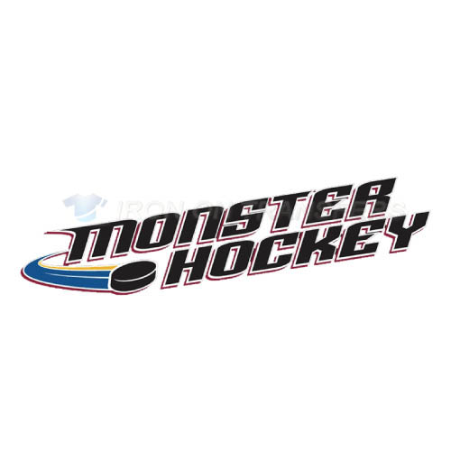 Lake Erie Monsters Iron-on Stickers (Heat Transfers)NO.9061
