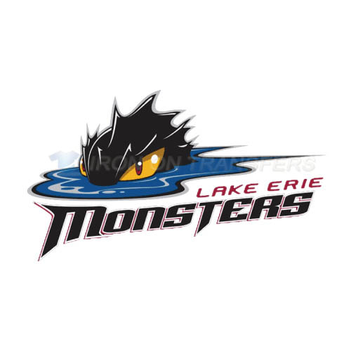 Lake Erie Monsters Iron-on Stickers (Heat Transfers)NO.9063