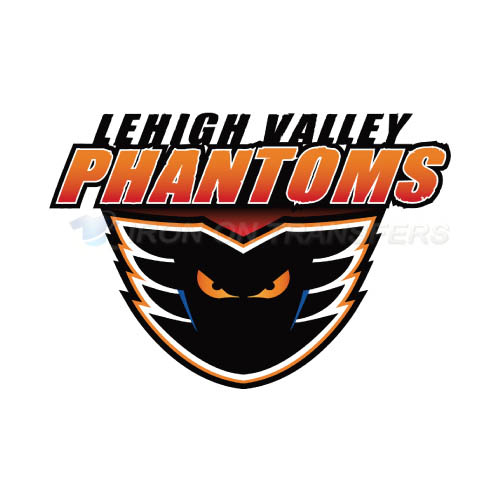 Lehigh Valley Phantoms Iron-on Stickers (Heat Transfers)NO.9065