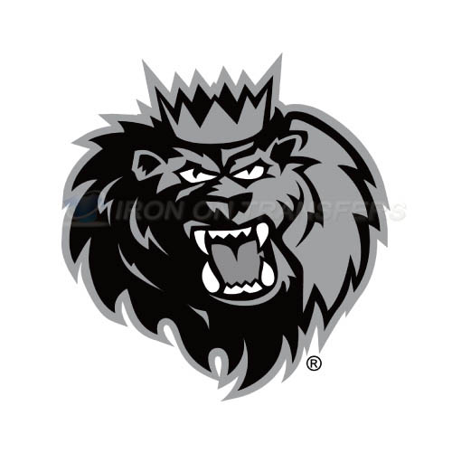 Manchester Monarchs Iron-on Stickers (Heat Transfers)NO.9071