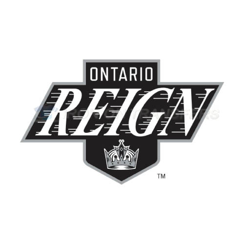Ontario Reign Iron-on Stickers (Heat Transfers)NO.9096