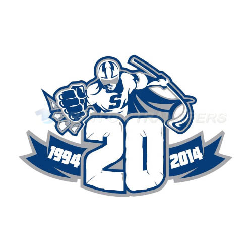 Syracuse Crunch Iron-on Stickers (Heat Transfers)NO.9160