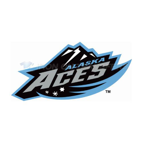 Alaska Aces Iron-on Stickers (Heat Transfers)NO.9212