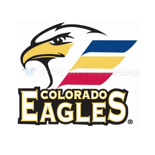 Colorado Eagles Iron-on Stickers (Heat Transfers)NO.9242
