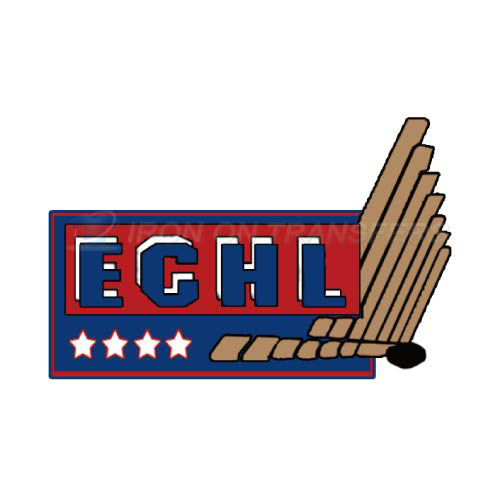 ECHL Iron-on Stickers (Heat Transfers)NO.9218