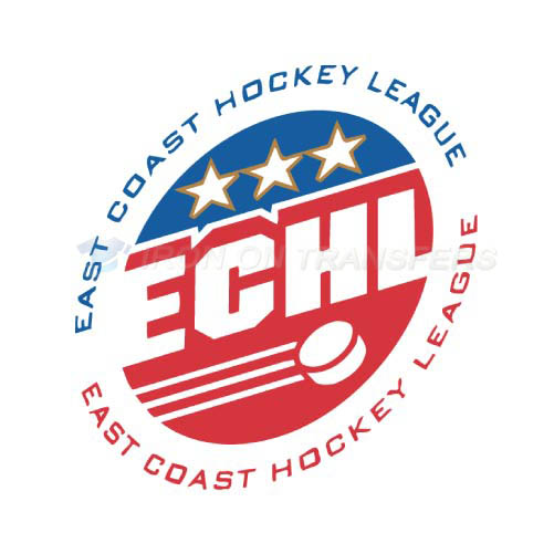 ECHL Iron-on Stickers (Heat Transfers)NO.9219