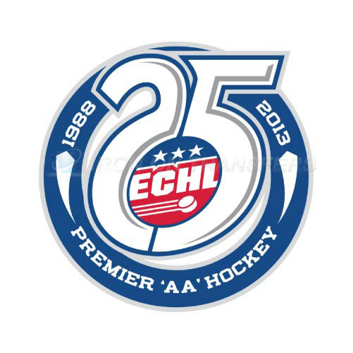 ECHL Iron-on Stickers (Heat Transfers)NO.9220