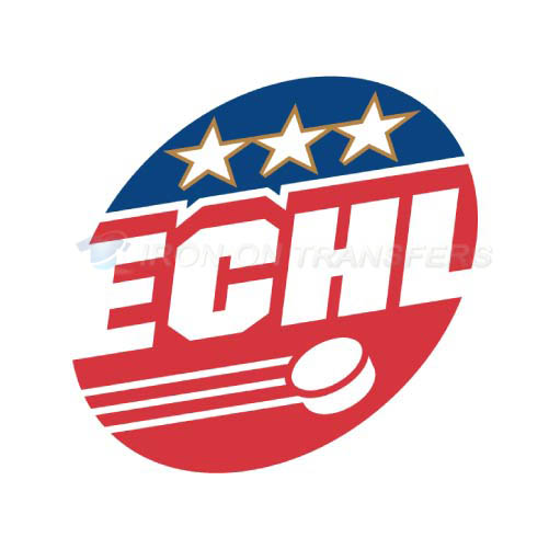 ECHL Iron-on Stickers (Heat Transfers)NO.9221