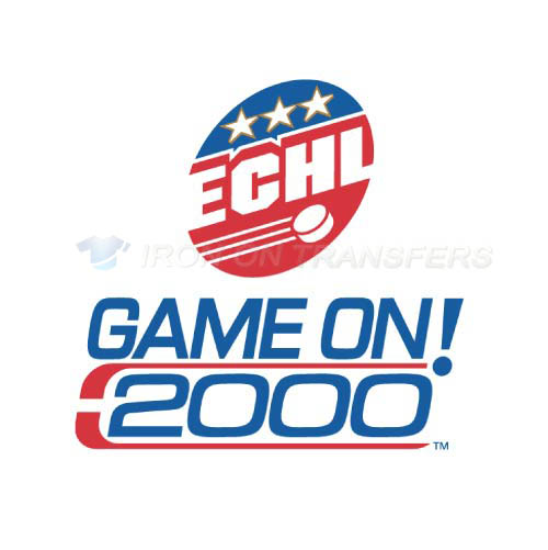 ECHL Iron-on Stickers (Heat Transfers)NO.9222