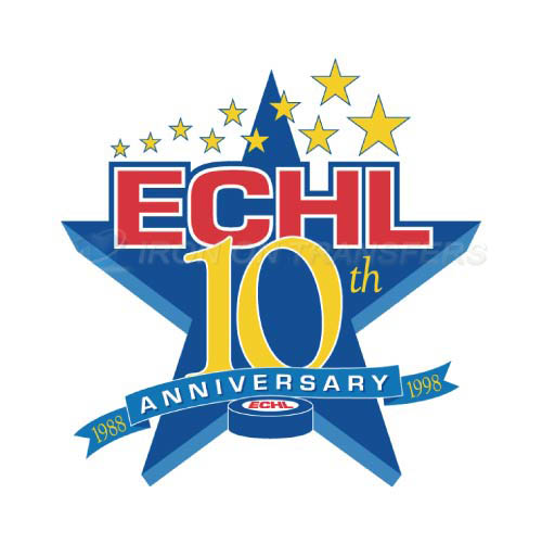 ECHL Iron-on Stickers (Heat Transfers)NO.9223