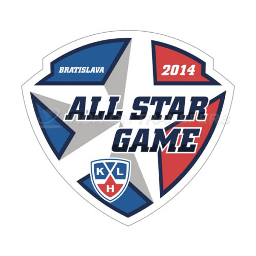 KHL All-Star Game Iron-on Stickers (Heat Transfers)NO.7256