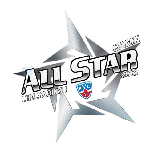 KHL All-Star Game Iron-on Stickers (Heat Transfers)NO.7257