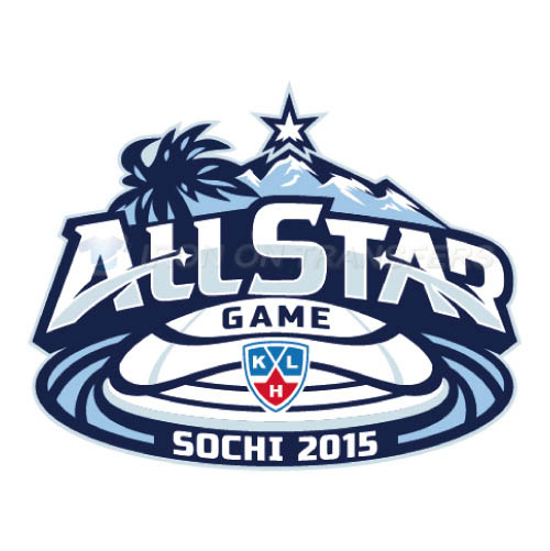 KHL All-Star Game Iron-on Stickers (Heat Transfers)NO.7259
