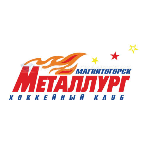 Metallurg Magnitogorsk Iron-on Stickers (Heat Transfers)NO.7278