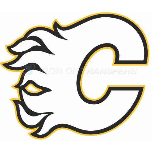 Calgary Flames Iron-on Stickers (Heat Transfers)NO.100