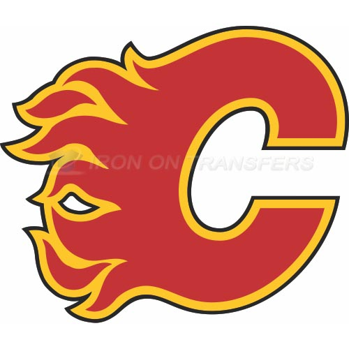 Calgary Flames Iron-on Stickers (Heat Transfers)NO.97