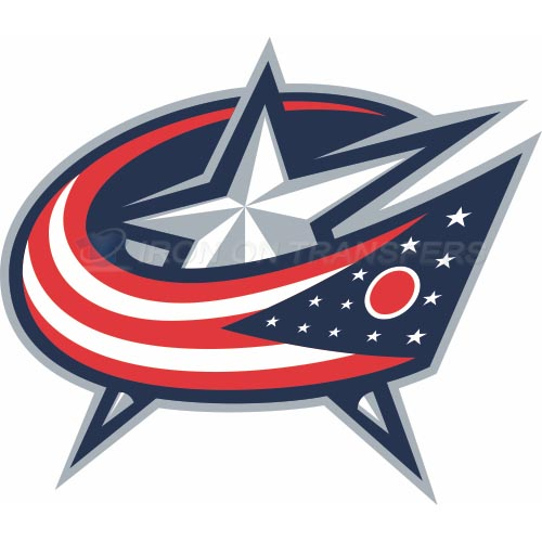 Columbus Blue Jackets Iron-on Stickers (Heat Transfers)NO.124