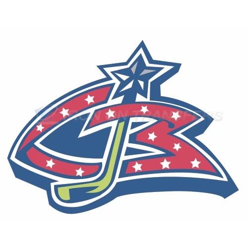 Columbus Blue Jackets Iron-on Stickers (Heat Transfers)NO.125
