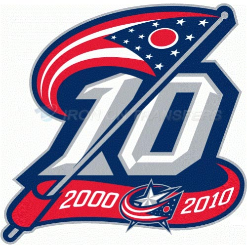 Columbus Blue Jackets Iron-on Stickers (Heat Transfers)NO.128