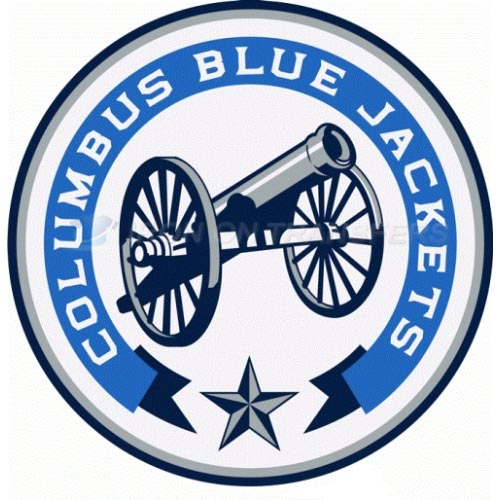 Columbus Blue Jackets Iron-on Stickers (Heat Transfers)NO.129