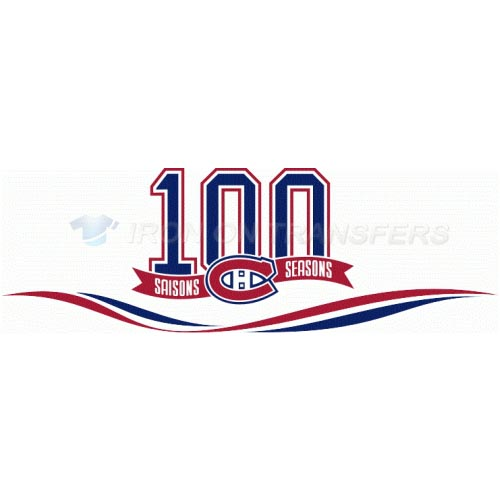 Montreal Canadiens Iron-on Stickers (Heat Transfers)NO.205