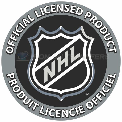 NHL Iron-on Stickers (Heat Transfers)NO.257