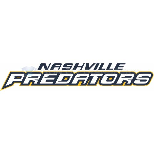 Nashville Predators Iron-on Stickers (Heat Transfers)NO.208