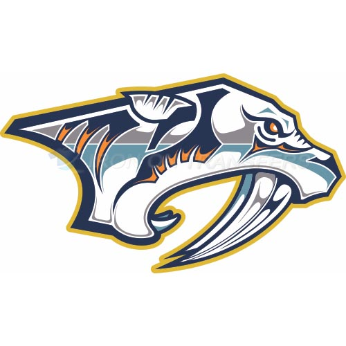 Nashville Predators Iron-on Stickers (Heat Transfers)NO.211