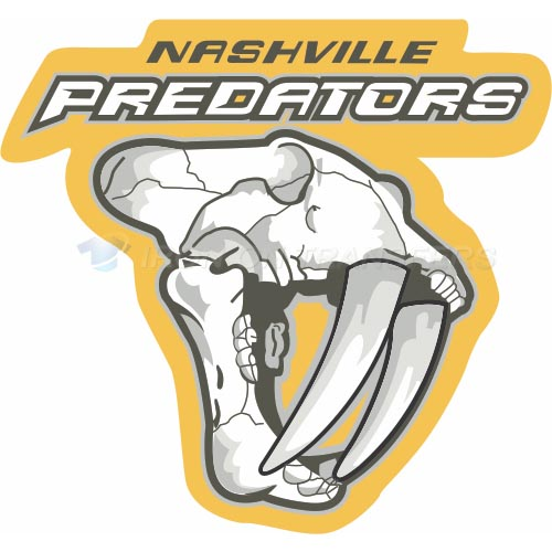 Nashville Predators Iron-on Stickers (Heat Transfers)NO.212