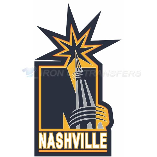 Nashville Predators Iron-on Stickers (Heat Transfers)NO.214
