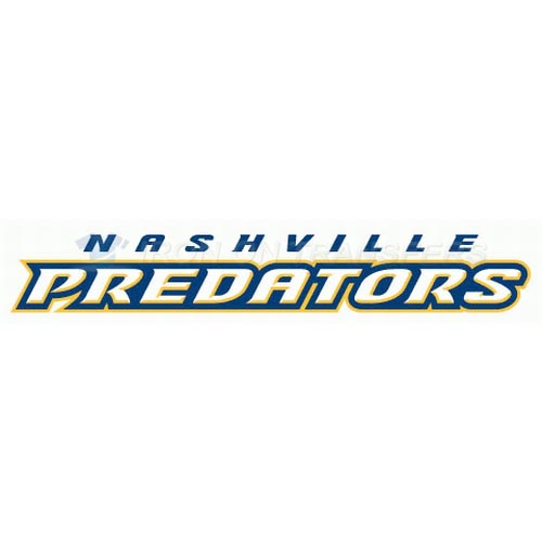 Nashville Predators Iron-on Stickers (Heat Transfers)NO.216