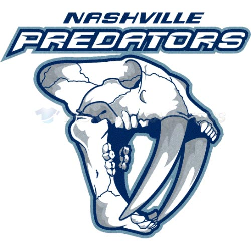 Nashville Predators Iron-on Stickers (Heat Transfers)NO.221
